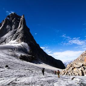 walk by Jayanta Roy - Landscapes Mountains & Hills