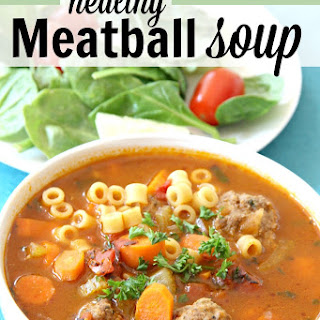 30-minute Healthy Meatball Soup