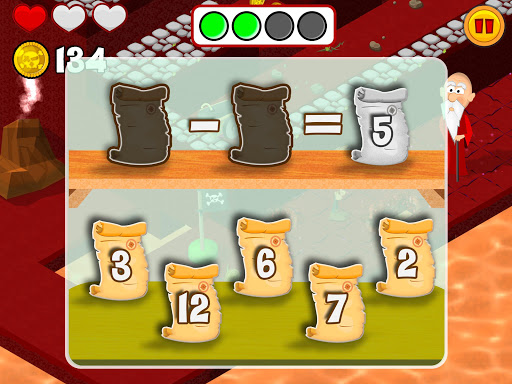 MathLand Full Version: Mental Math Games for kids Apps voor Android screenshot