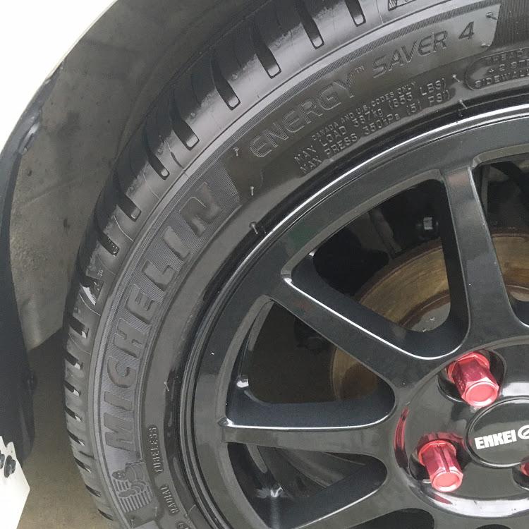 アルト HA25Sのタイヤ交換,洗車,ましゅまろまん,ミシュラン,エナジーセイバー4に関するカスタム&メンテナンスの投稿画像3枚目
