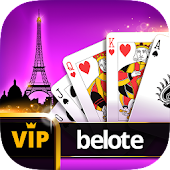 VIP Belote - French Belote Online Multiplayer Android APK Download Free By Casualino Games
