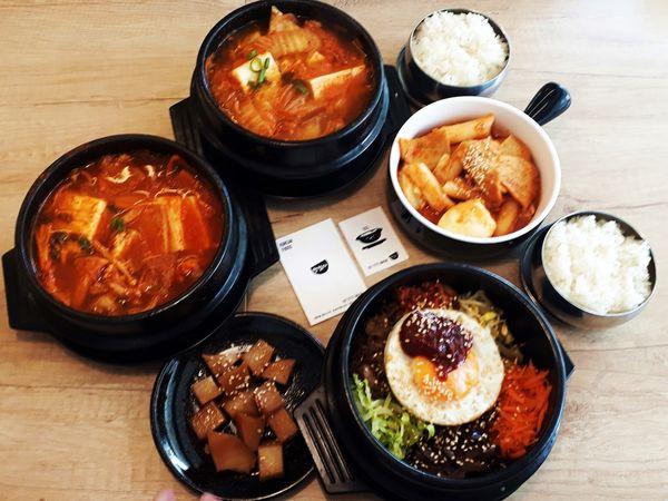隱身大樓裡小清新的小屋子,我在『瑪希噠韓式小吃』