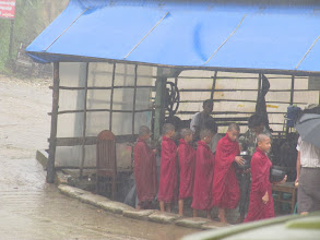 Photo: Year 2 Day 59 - Very Wet Monks Seeking Alms