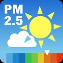 PM2.5と黄砂の予測 大気汚染予報 icon