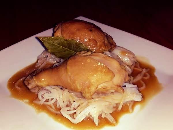 Coconut Chicken Adobo Recipe