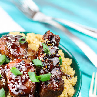 """Slap Yo Mamma"" Spicy Sticky Asian Ribs"