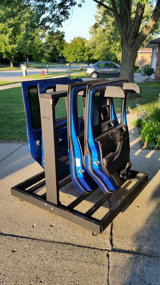Door Storage Cart Jeep Wrangler Forum