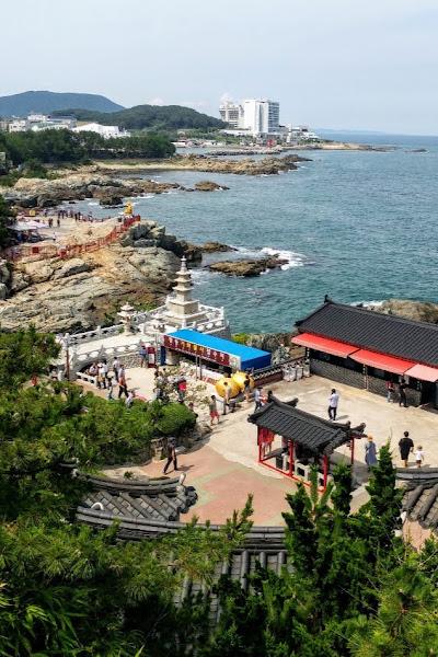 Study Abroad Program in Daegu S.Korea: field trip to Busan - ocean view