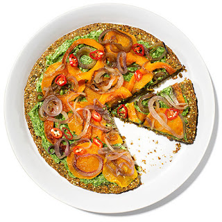 Pistachio and Squash Galette