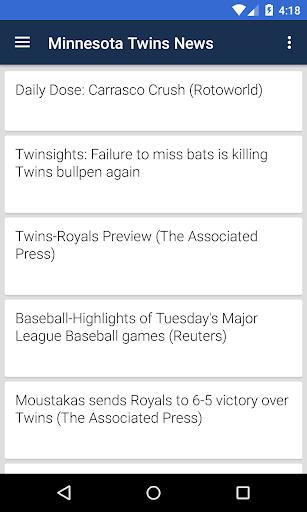 BIG Minnesota Baseball ニュース