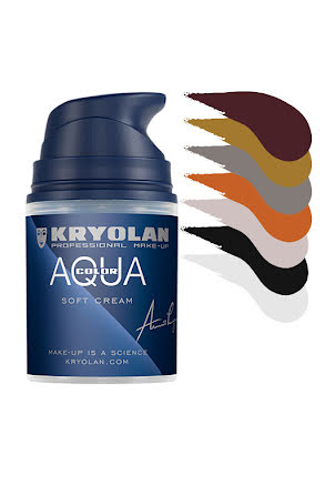 Aquacolor cream 50ml, färger