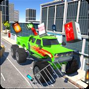 Monster Truck - Car destruction