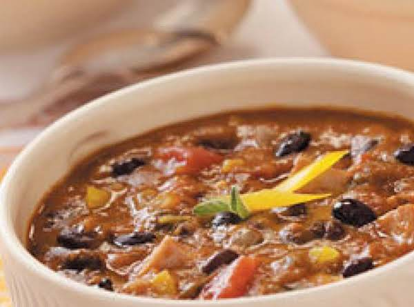 Black Bean And Pumpkin Chili -slow Cooker