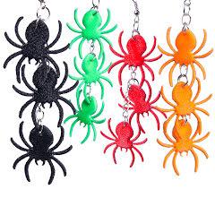 Örhängen, spindlar