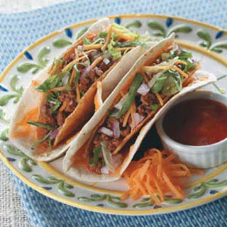 Soft and Crunchy Beef Tacos