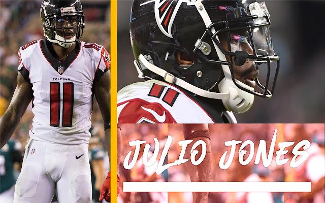 Julio Jones Themes & New Tab