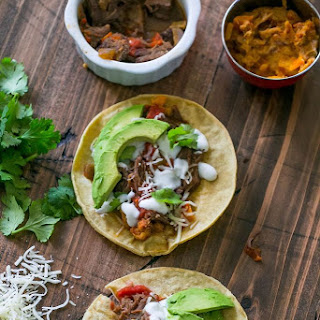 Slow Cooker Beef Short Rib Tacos.
