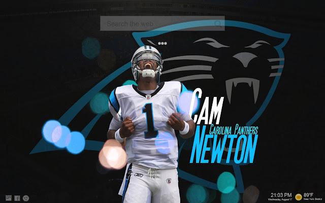 Cam Newton HD Wallpapers New Tab