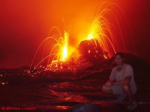 Photo: Active ventVolcanoes National Park, Hawaii