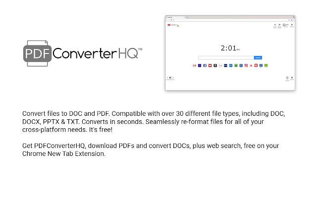 PDFConverterHQ for Chrome