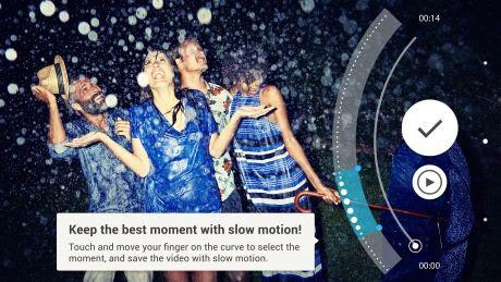 Camera Xperia M5 được tích hợp sẵn nhiều hiệu ứng đẹp cho bạn thỏa sức sáng tạo