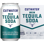 Cutwater Tequila Soda with Lime