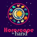Horoscope in hand (Zodiac, Astrology) icon