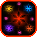 Colorful Radiant Flowers LWP icon