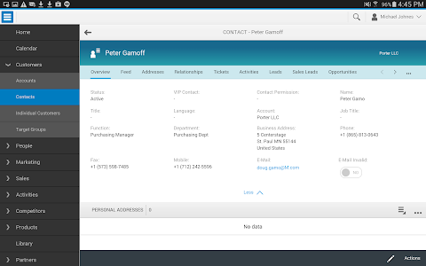 SAP Hybris Cloud for Cust, ext screenshot 4