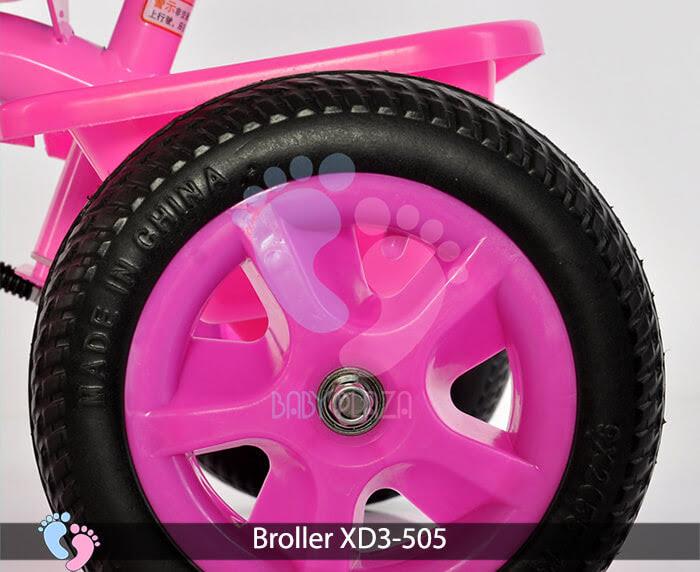 Xe đạp ba bánh Broller XD3-505 cho trẻ em 10