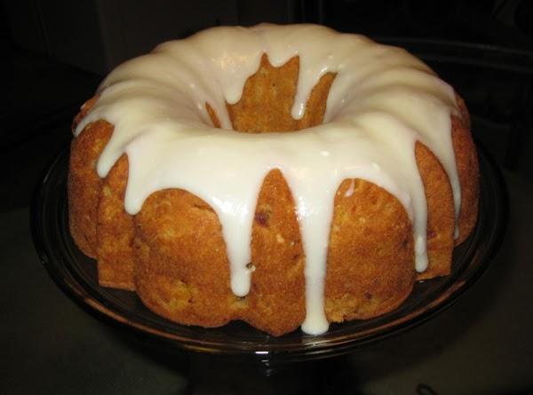 Fresh Peach Pound Cake Recipe
