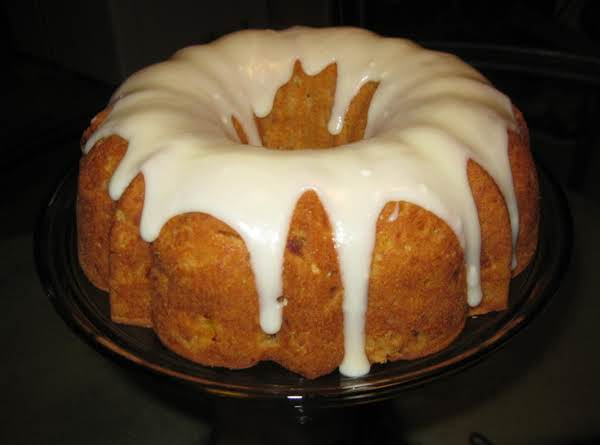 Fresh Peach Pound Cake Recipe