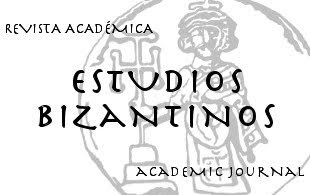 botón revista académica Estudios Bizantinos