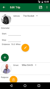 Track My Mileage and Time- screenshot thumbnail