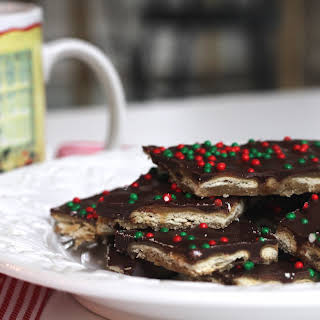 Christmas Cracker Toffee.
