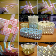 Handicraft From Drinking Straws