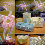 Handicraft From Drinking Straws Icon