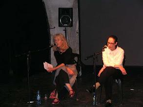 Photo: Dina Lee and Tali Fahima