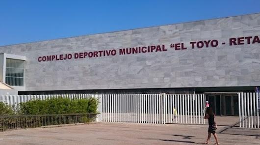 Cierre del gimnasio del estadio que llevará su actividad a El Toyo