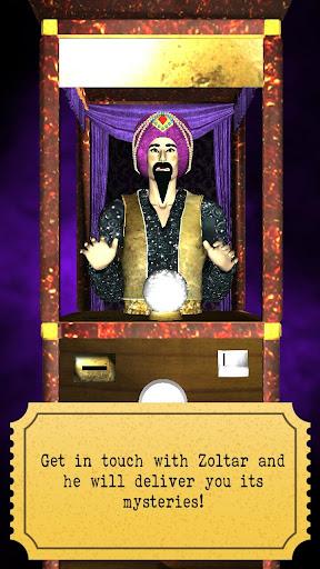 Zoltar fortune telling 3D screenshot 1