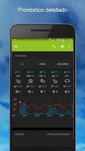 Weather Underground: miniatura de captura de pantalla
