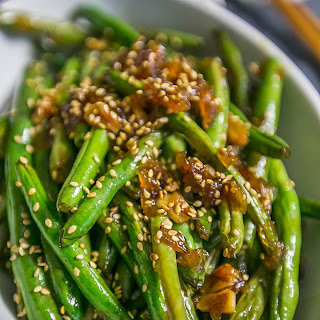 Garlic Chinese Style Green Beans.