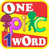 1 Pic 1 Word -  Picture to Word  Game Offline Free