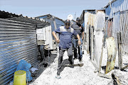 SA Human Rights Commission head Lawrence Mushwana on a work visit to Khayelitsha in the Western Cape. (File photo)