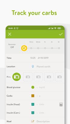 mySugr - Diabetes App & Blood Sugar Trackerのおすすめ画像2