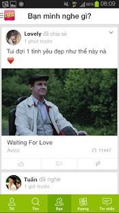 Keeng.vn: Music social network- screenshot thumbnail