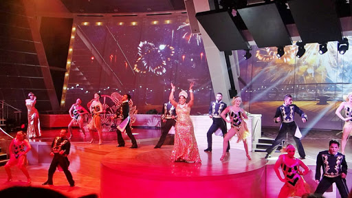 """""""StarWater"""": One of the trippy tech-infused shows at the Two70 hall on Quantum of the Seas."""