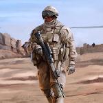 Sniper Shooting Desert Combat Icon