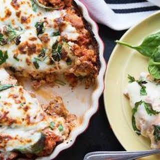 Low-Carb Lasagna.