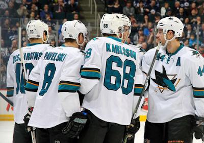 NHL: Troisième défaite d'affilée pour les Sharks